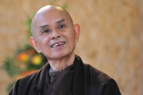 Thich Nhat Hanh Smiling