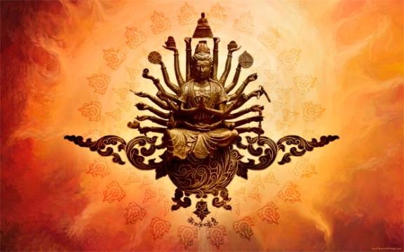 Many Arms Buddha