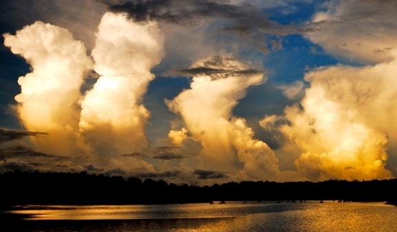 Cumulus Tower Sunset
