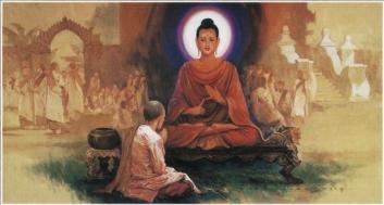 The Buddha Teaches Dhamma