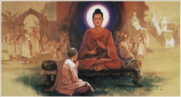 The Buddha Teaches Dhamma
