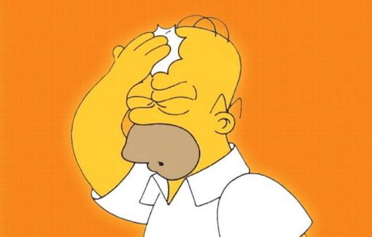 Home Simpson Head Slap