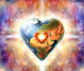 Heart-shaped Earth Metta