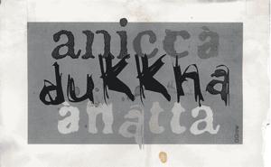 Anicca dukkha anatta - small